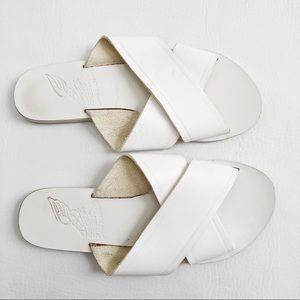 Ancient Greek Thais Cross Strap Sandals